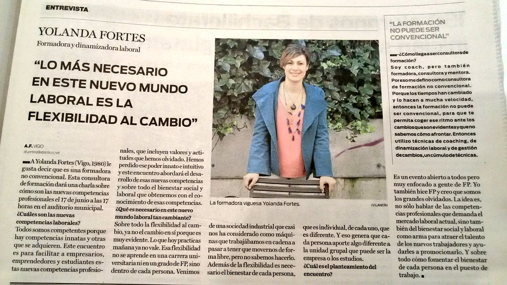 "I Encuentro ""Como ser competente"". #Vigo #FlexibilidadAlCambio"