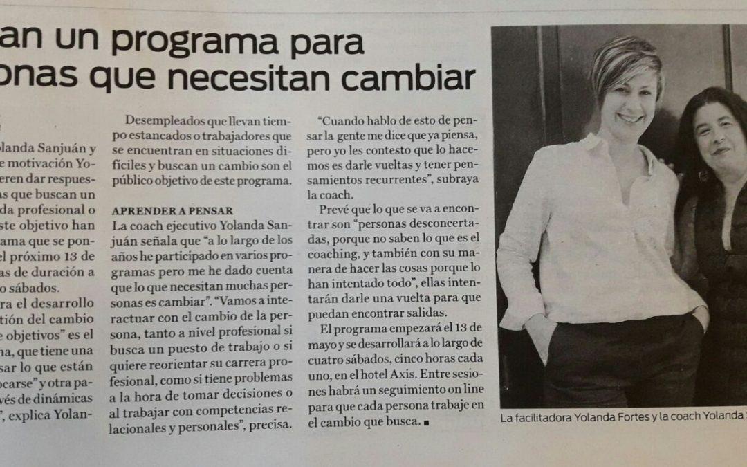 Programa Coaching para el Desarrollo Profesional.