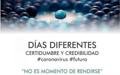 Días Diferentes con Acciones Nuevas #coronavirus