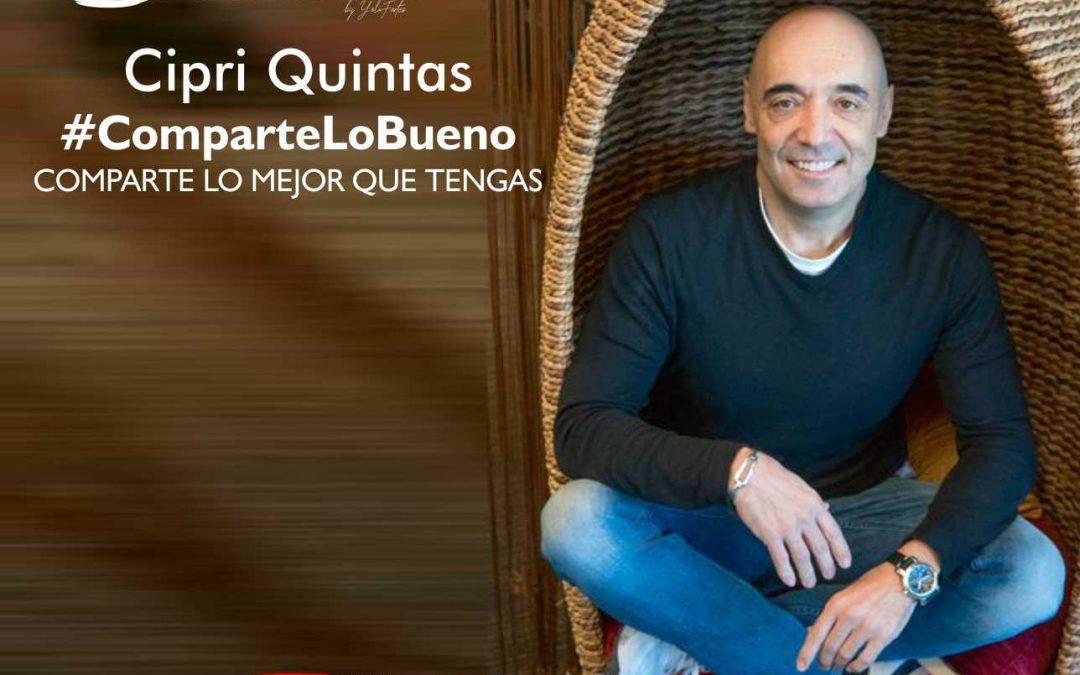 Café con Cipri Quintas. Comparte lo bueno.