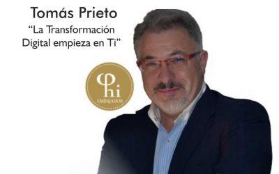 Café con Tomás Prieto. La Transformación Digital comienza en Ti.
