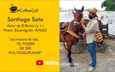 Café con Santiago Soto, actor, pintor y escenógrafo.